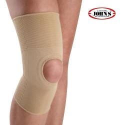 Επιγονατίδα Ελαστική Με Οπή Μπεζ Knee Support 12380 JOHN'S