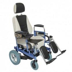 Ηλεκτροκίνητο Αναπηρικό Αμαξίδιο Reclining Comfort Με Πτυσσόμενα Πλαϊνά Και Αποσπώμενα & Ανυψούμενα Υπόποδια