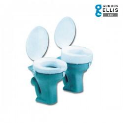 Ανυψωτικό WC Ashby Deluxe Anti-Bacterial με Καπάκι Ύψους 10εκ. 215532 Gordon Ellis & Co