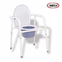 Commode Καρέκλα + WC με Ρυθμιζόμενο Ύψος 217540 JOHN'S