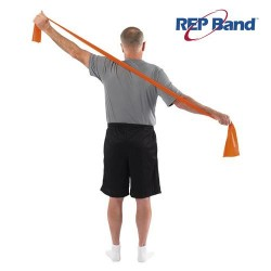 Λάστιχο Γυμναστικής Rep Band (5,5m) Level 2 Orange 233001 JOHN'S