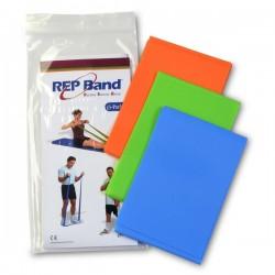 Λάστιχο Γυμναστικής REP BAND 3-PACK x 1,5m (orange-green-blue) 233031 JOHN'S
