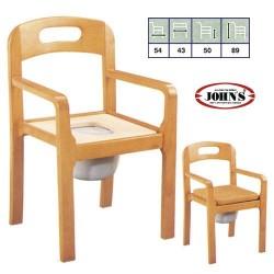 Commode Πολυθρόνα Ξύλινη + WC 241892