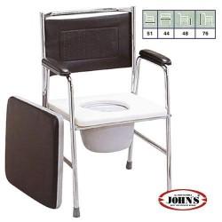 Καρέκλα Τουαλέτας με Δοχείο 241893 JOHN'S
