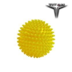 TITAN Μπαλάκι Μασάζ Κίτρινο Φ7,5cm 26132 JOHN'S