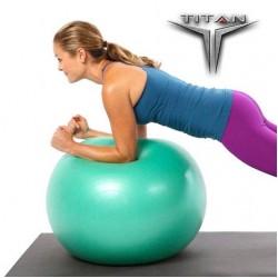 Μπάλα Yoga-Pilates 26135  Φ55cm Πράσινο TITAN Orthodynamic