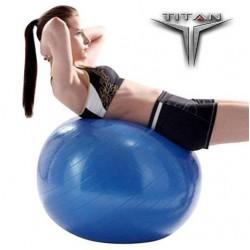 Μπάλα Yoga-Pilates 26137 Φ75cm Μπλε TITAN Orthodynamic