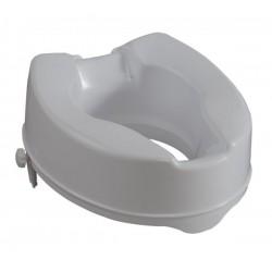 Ανυψωτικό Κάθισμα Τουαλέτας 15cm με σφιγκτήρες Λευκό
