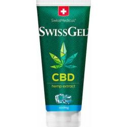 Herbamedicus Swiss Gel Hemp Extract CBD Cooling Ψυκτική Κρέμα 200ml