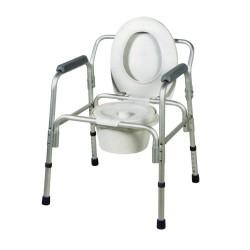 Κάθισμα Τουαλέτας Αλουμινίου AC-541