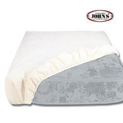 Αδιάβροχο Υποσέντονο Με Λάστιχο 220X110 JOHN'S Λευκό