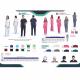 Ιατρική Στολή Μπλούζα - Παντελόνι (Σετ) Unisex Μπλέ