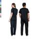 Ιατρική Στολή Μπλούζα - Παντελόνι (Σετ) Unisex Μαύρο