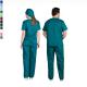 Ιατρική Στολή Μπλούζα - Παντελόνι (Σετ) Unisex  Σκούρο Πράσινο