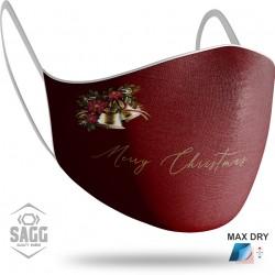 Unisex Μάσκα Προστασίας Merry Christmas 1