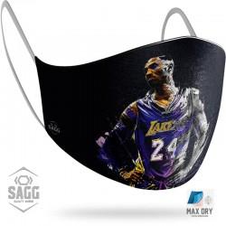 Παιδική Υφασμάτινη Μάσκα Προστασίας Kobe Bryant 1 τμχ