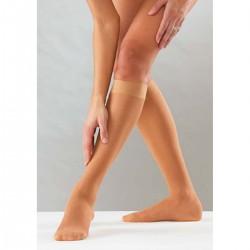 """Ελαστικές Κάλτσες Κάτω Γόνατος """"Knee High"""" B11 Ortholand 70DEN Μπεζ"""