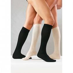 """Βαμβακερές Κάλτσες Unisex """"Cotton Socks"""" B12 Ortholand Μαύρο mm/Hg 14-16"""