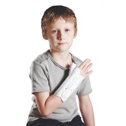 Παιδιατρικός Ελαστικός Νάρθηκας Καρπού Αντίχειρα Ortholand Ped Spica Λευκό