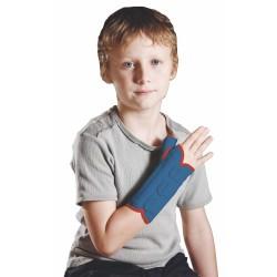 Παιδιατρικός Ελαστικός Νάρθηκας Καρπού Αντίχειρα Ortholand Ped Spica Γαλάζιο