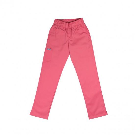 Ιατρική Στολή Γυναικεία Μπλούζα - Παντελόνι (Σετ) Ροζ