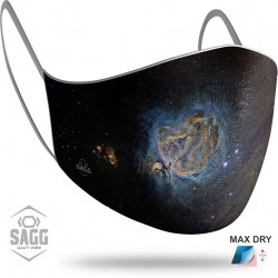 Unisex Υφασμάτινη Μάσκα Προστασίας Space 7ll 1 τμχ